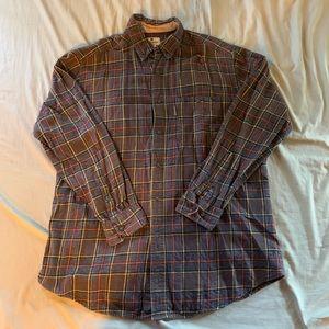 90's Brown Woolrich Cotton Flannel Shirt